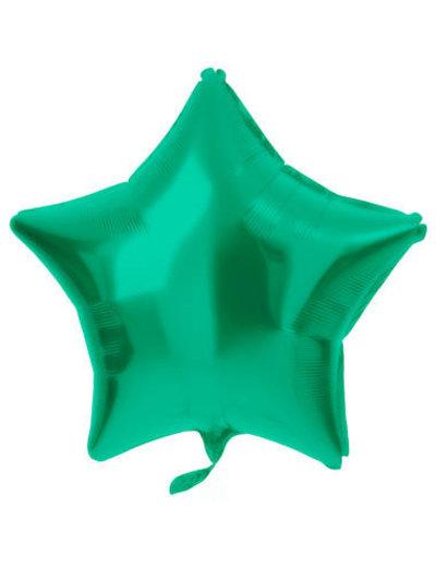 Folieballon Folieballon Metallic Mat Groen - 48cm
