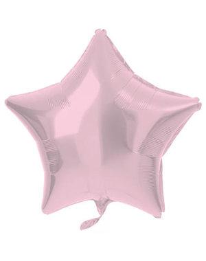 Folieballon Folieballon Metallic Mat Pastel Roze - 48cm