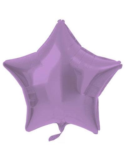 Folieballon Folieballon Metallic Mat Pastel Paars - 48cm