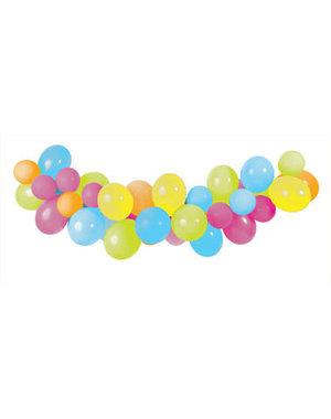 Latexballonnen Ballon Guirlande Summer - 3mtr
