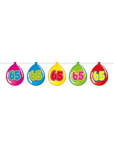versiering Gekleurde  Ballonnen Slinger - 65
