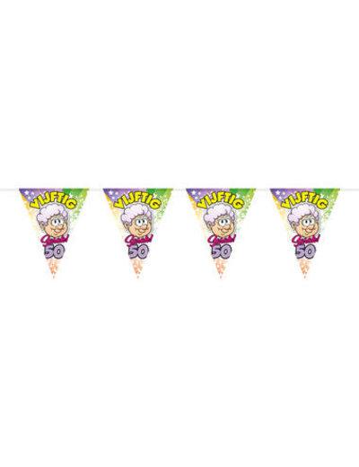 Ballonnen Vlaggenlijn Regenboog 50 jaar Sarah