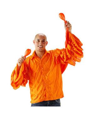 Kostuum Limbo Blouse Oranje