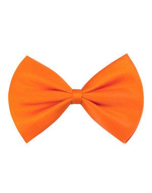 Versiering Vlinderstrikje Basic - Oranje