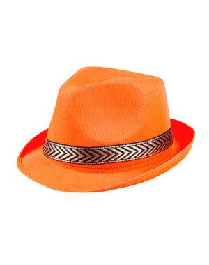 Accessoires Oranje Funky Hoed Neon