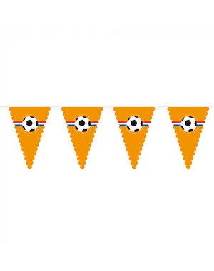 versiering Oranje Reuzenvlaggenlijn Voetbal