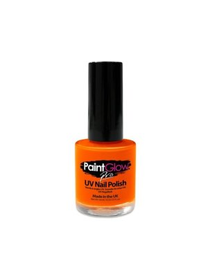 Make-Up Oranje UV Nagellak