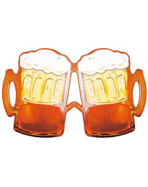 accessoires Bril Bierglazen Oranje