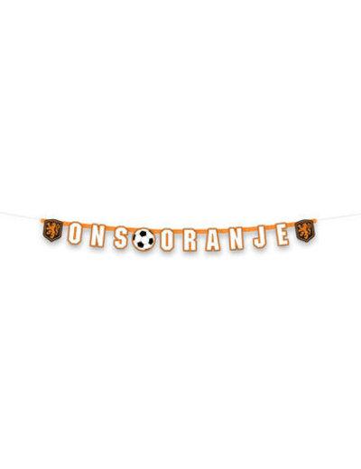 versiering Letterslinger KNVB Ons oranje