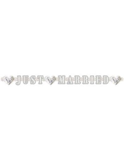 versiering Letterslinger Just Married