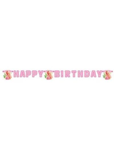versiering Letterslinger Happy Birthday Barbie