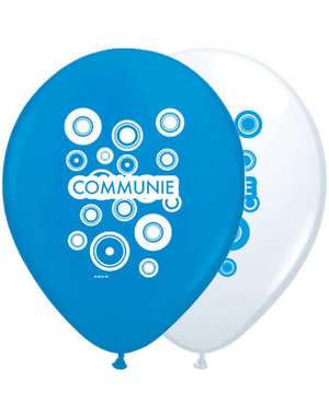 Ballonnen Ballonnen Communie Blauw