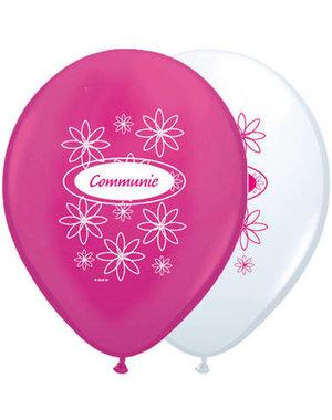 Ballonnen Ballonnen Communie Roze