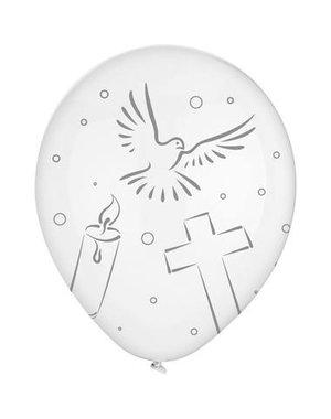 Ballonnen Ballonnen Communie Duifjes