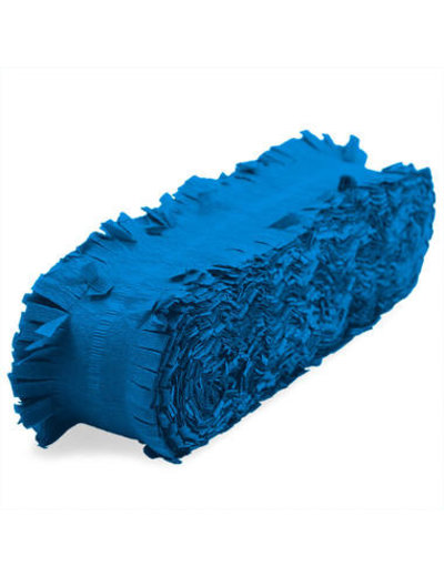 versiering Crepe Slinger Donker Blauw - 6/24 meter