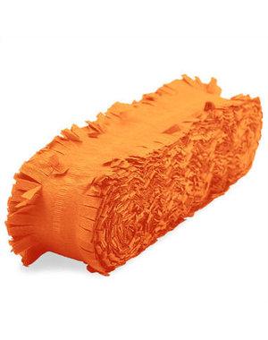 versiering Crepe Slinger Oranje - 6/24 meter