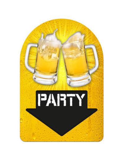 versiering Deurbord Party Bier