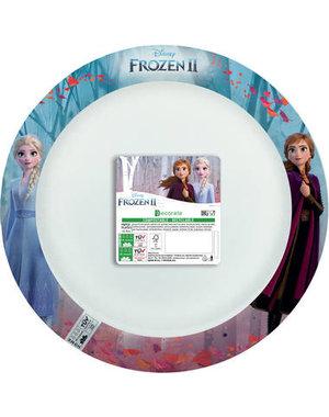 Tafelservies Bordjes Frozen II  Composteerbaar - 8stk/24cm