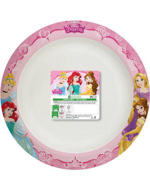 Tafelservies Bordjes Prinsessen Composteerbaar - 8stk/24cm