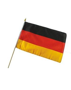 Versiering Vlag op stok  Duitsland - 30x45cm