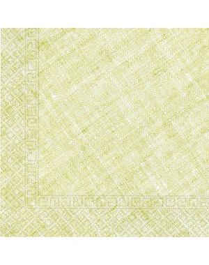 Tafelservies Servetten Groen Composteerbaar - 20stk