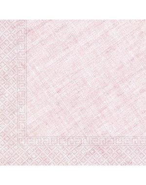 Tafelservies Servetten Baby Roze Composteerbaar - 20stk