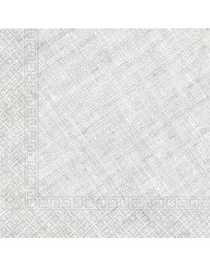 Tafelservies Servetten Grijs Composteerbaar - 20stk