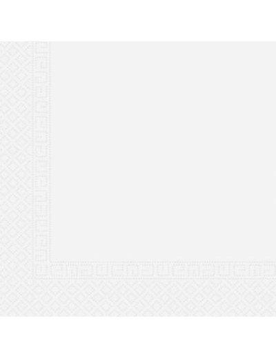 Tafelservies Servetten Wit Composteerbaar - 20stk