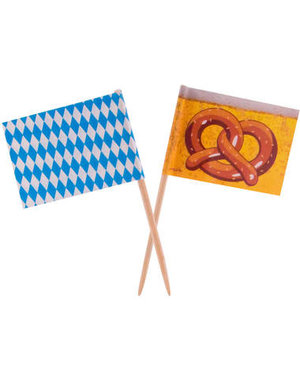 versiering Vlagprikkers Oktoberfest - 50stk