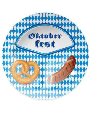 Accessoires Bordjes Oktoberfest - 23cm