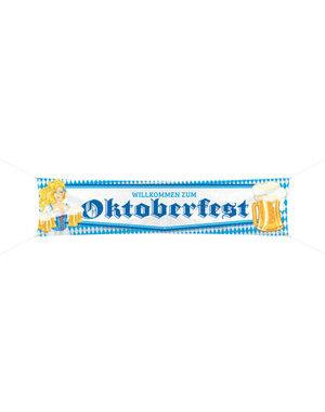 versiering Spandoek  Bierpul Oktoberfest