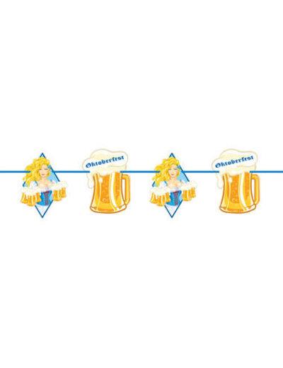 versiering Slinger Bierpullen Oktoberfest  - 10mtr