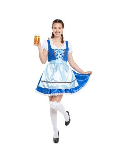 Kostuum Oktoberfest Dirndl Klassiek Blauw - 36 t/m 44