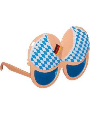 Accessoires Oktoberfest Bril BH