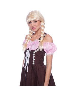 Accessoires Oktoberfest Pruik Heidi