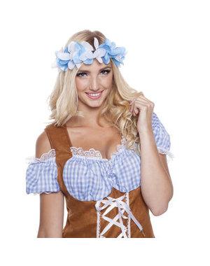 Accessoires Oktoberfest Tiara Bloemen