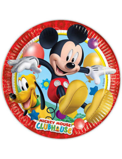 Tafelservies Mickey Mouse Clubhouse Borden