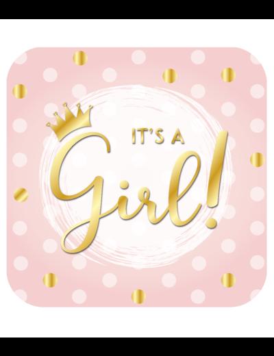 Versiering Huldeschild It's a Girl