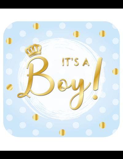 Versiering Huldeschild It's a Boy