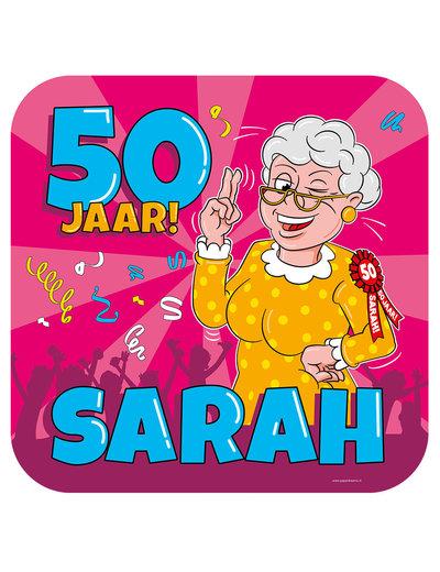 Versiering Huldeschild Sarah
