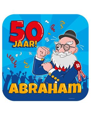 Versiering Huldeschild Abraham