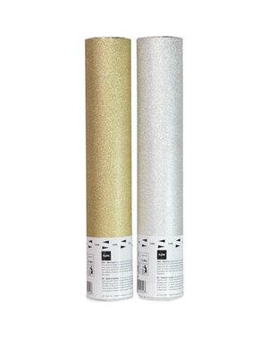 confetti Confetti  Kanon Glitter - Goud & Zilver