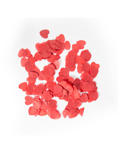 confetti Confetti Hartjes Rood - 14gr