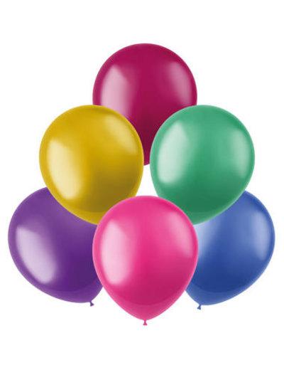 Latexballonnen Shimmer Ballonnen Assorti - 50stk