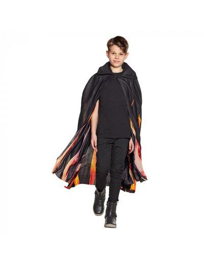 Kostuum Vampieren Cape Inferno - Kinderen