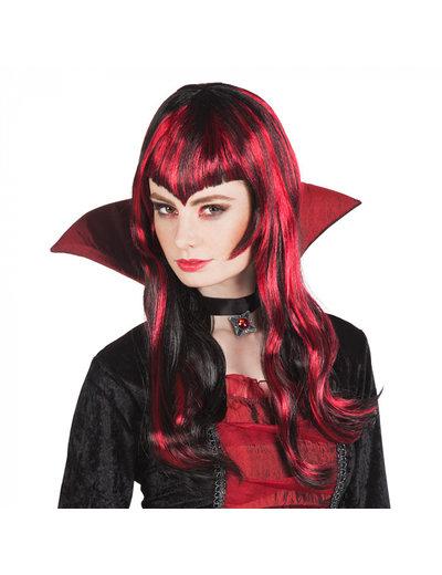 pruiken Pruik Vampier Streaks