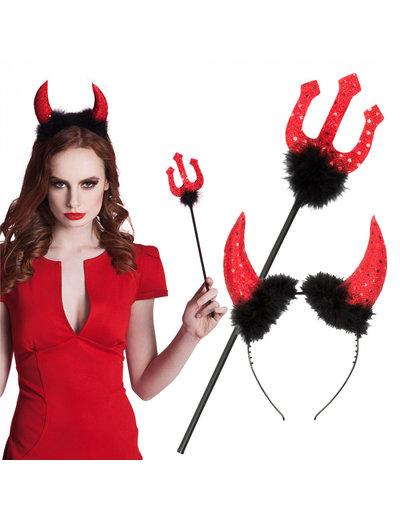Kostuum Duivel Set