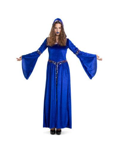 Kostuum Heksenjurk Dark Moon - Dames