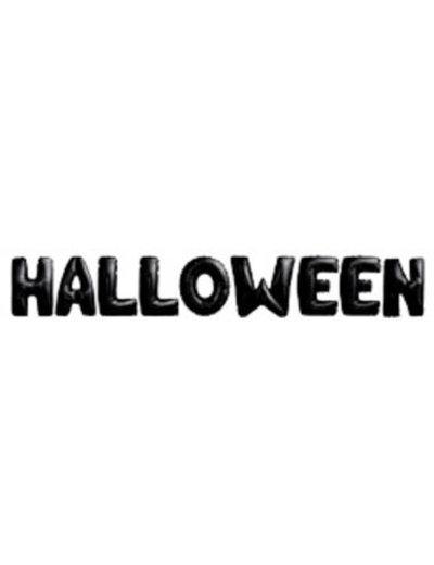 Foliebalon Folieballonnen Halloween Letters - 9stk