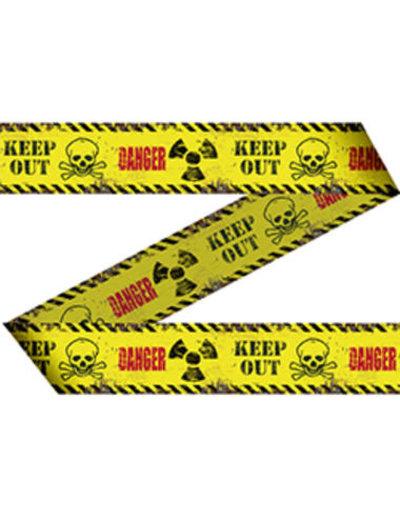 Versiering Afzetlint Danger Keep Out